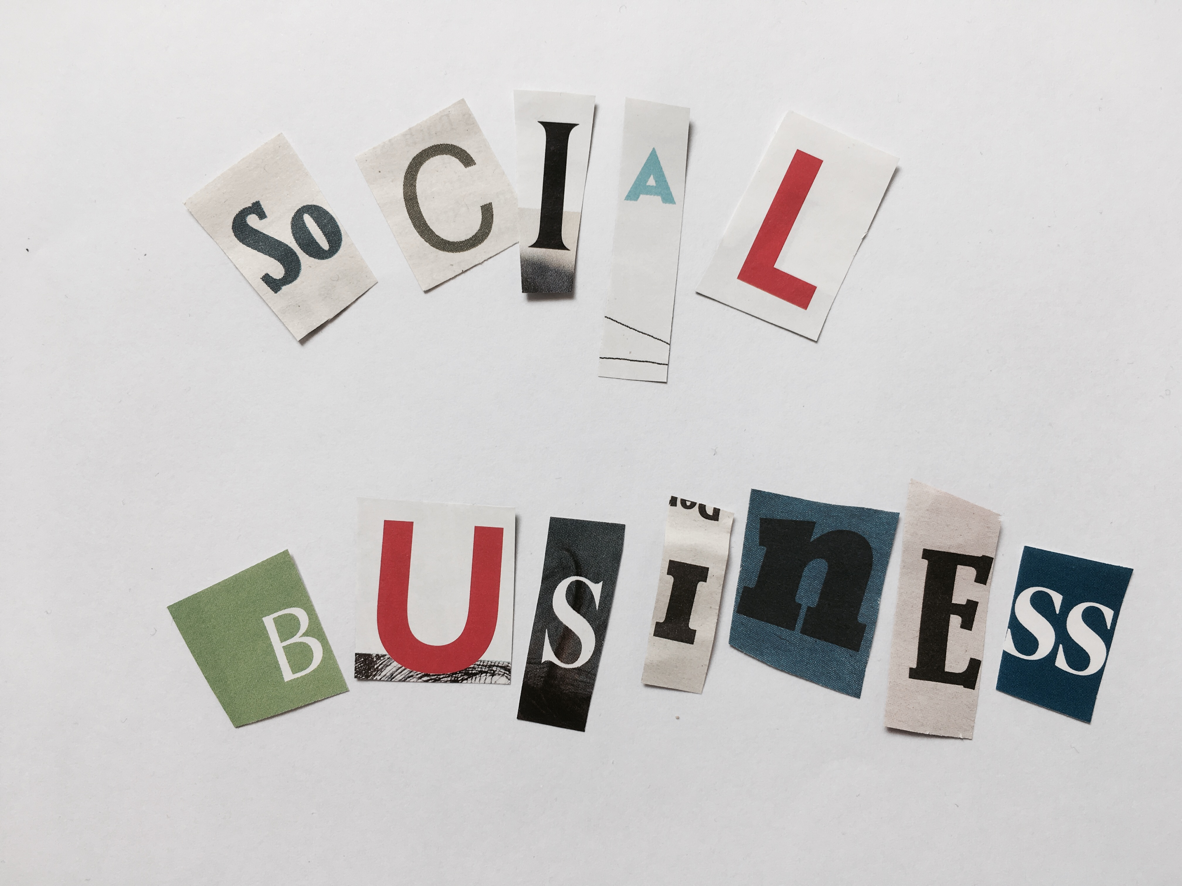 Glossary Social Business Collage