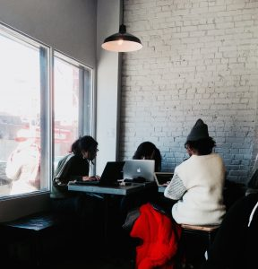 Café in Brooklyn, New York workspaces