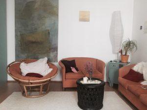 Jeanne Drach Studio Sitzecke