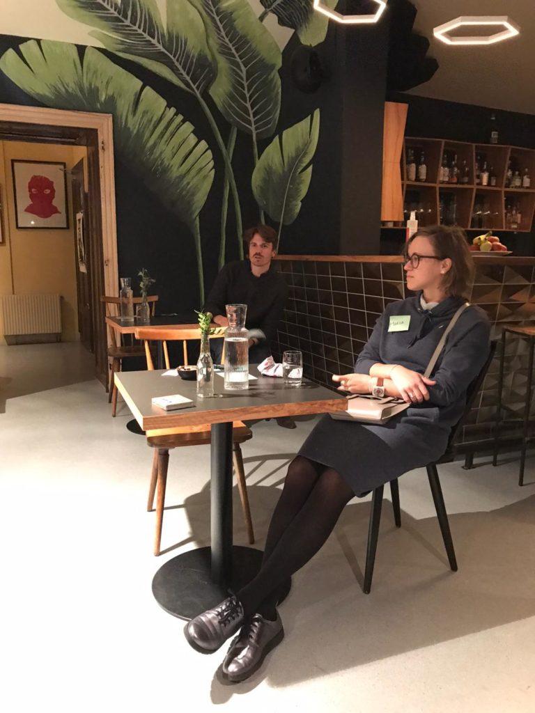 Teilnehmer*innen Salon im Twostay